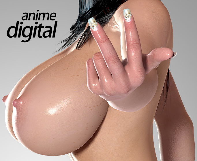 3D digital anime