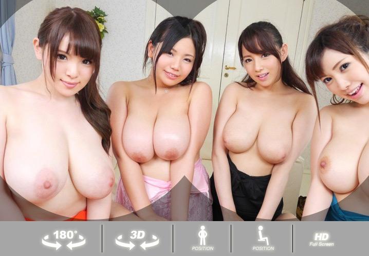 Asian big boobs virtual reality